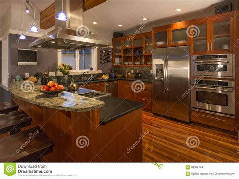 upscale kitchen appliances contemporary upscale home kitchen interior with wood