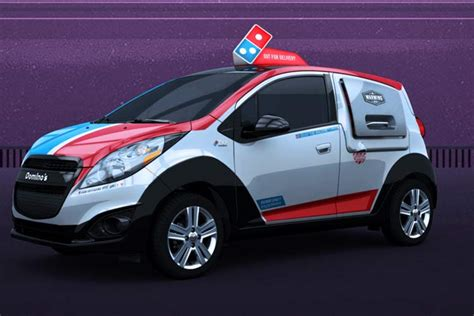 Dominos Pizza Cars by Domino S Launches New Pizza Delivery Cars With Built In