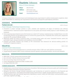 Resume With Photo Template by Photo Resume Templates Professional Cv Formats Resumonk
