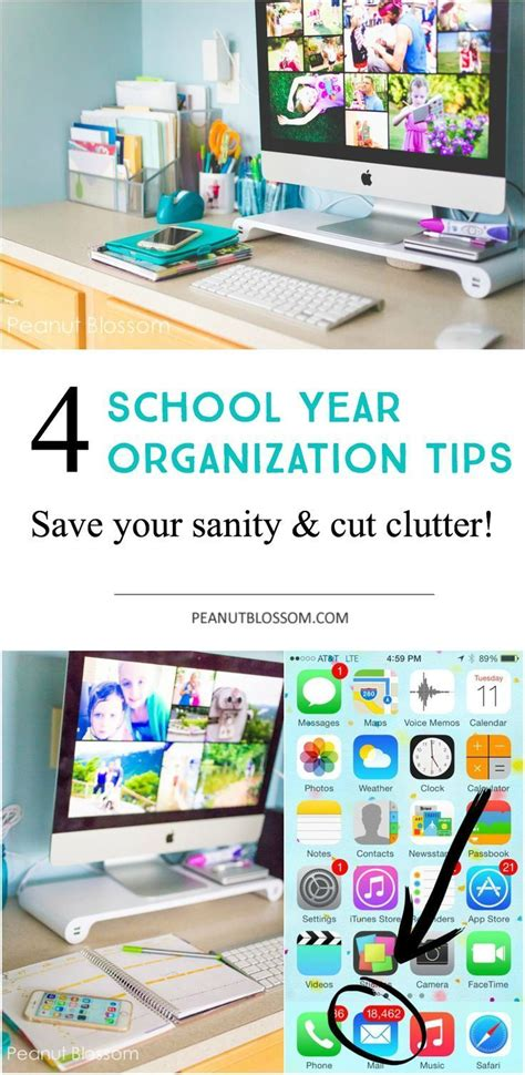 School Desk Organization Ideas 4 Sanity Saving Tips For Back To School Organization For Start The New Year Right With A