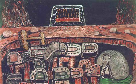 The Pit 1976 Philip Guston Wikiart Org The Pit