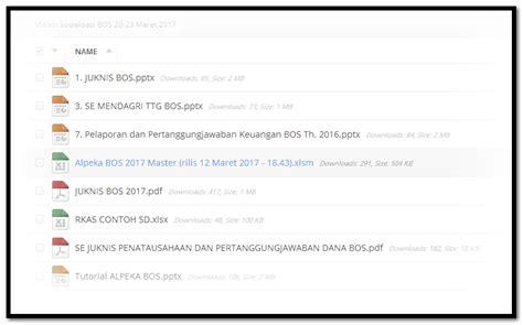 format xlsx adalah alpeka bos tahun 2017 lengkap dengan tutorial contoh