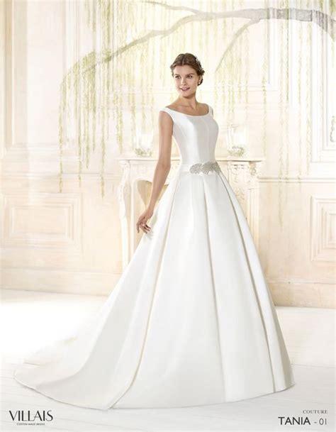 imagenes de vestidos de novia sin escote 50 fotos con los vestidos de novia sencillos m 225 s bonitos