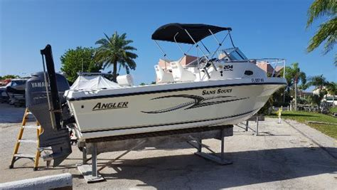 angler 204 boat angler 204 boats for sale in florida