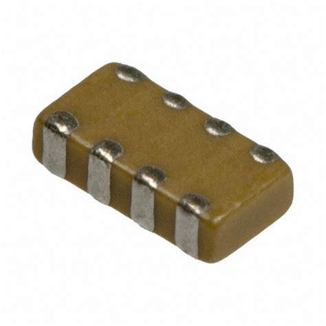capacitor network smd コンデンサアレイ w3a41c102mat2a avx corporation製 マルツオンライン