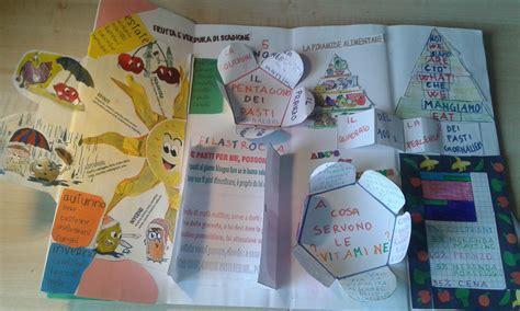 progetti sull alimentazione il lapbook dell alimentazione saltainbocca saltainbocca