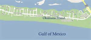 okaloosa island map of property pictures to pin on