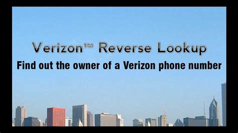 Lookup Owner Of Phone Number Verizon Lookup 3 Amazing Tips To Identify The