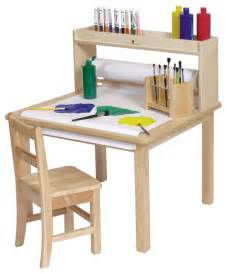 steffywood kids craft creativity desk wooden art table