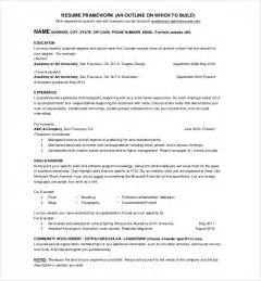 Resume 1 Page by Resume One Page Bricolagemagazine Com