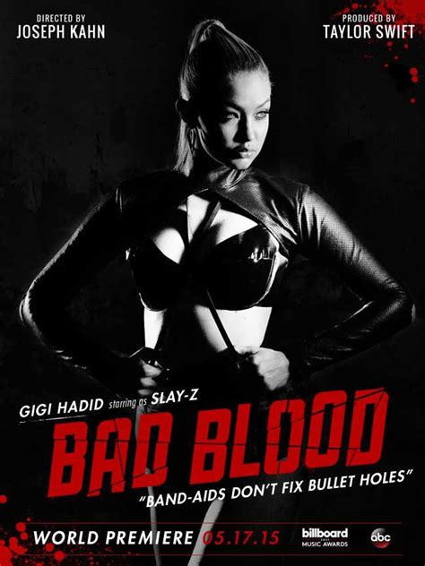 bad blood gigi hadid quot slay z quot in s quot bad blood