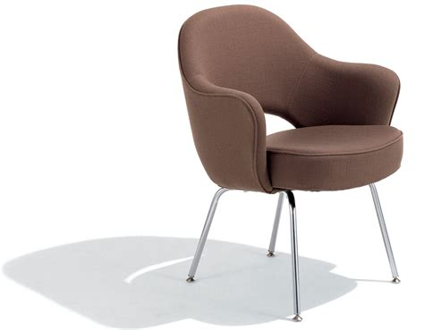 steel armchair saarinen executive arm chair with metal legs hivemodern com