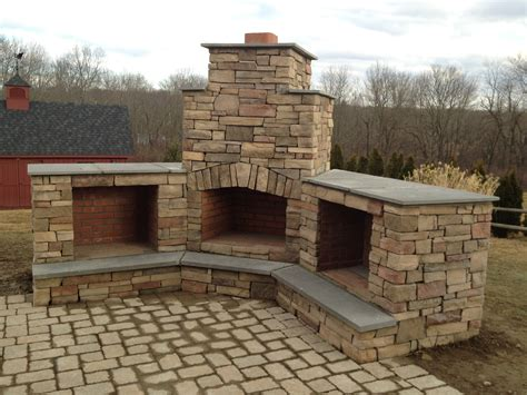 outside corner fireplace fireplaces fn masonry