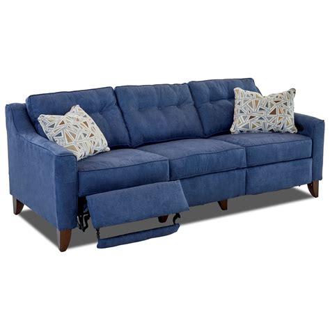 high leg sofa contemporary high leg power reclining sofa by trisha