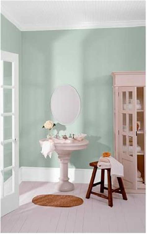 level powder room behr valley mist walls w trim laundry room color colors