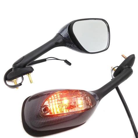 Suzuki Gsxr Mirrors Mirrors Suzuki Turn Signal Light Gsxr 05 15 Carbon Techparts