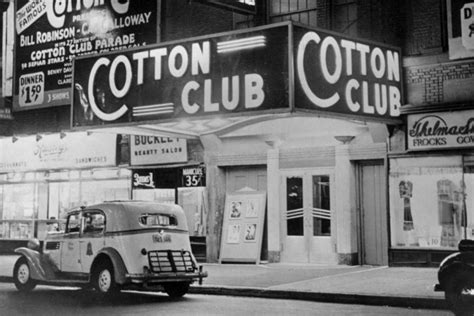 Cotton Club Images bill rudman mtp quot cotton club quot the sound of applause