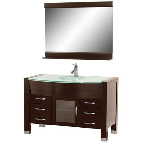 55 bathroom vanity cabinet 55 bathroom vanity 55 quot silkroad cambridge sink cabinet