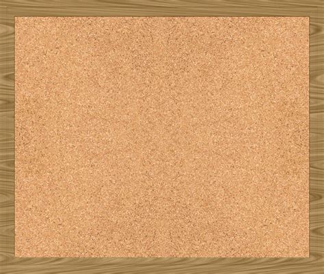 board free a large cork texture with wooden frame www