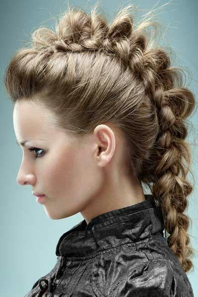 how to do a viking hairstyle 1000 images about viking hairdos on pinterest out of