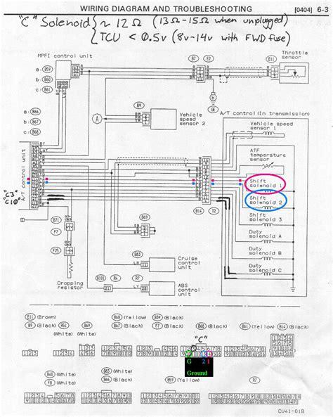 2001 subaru legacy radio wiring diagram php 2001 wiring