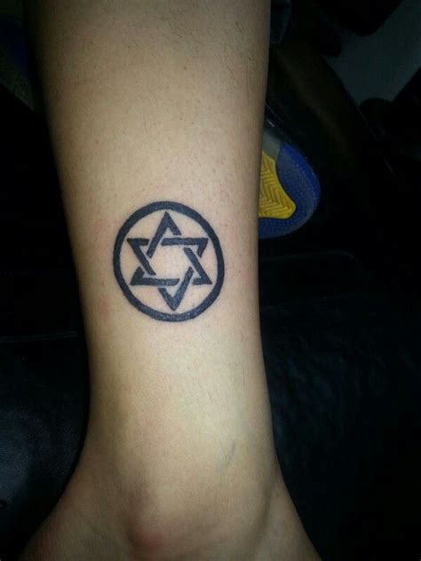 star of david tattoo of david tattoos by jud at ink well