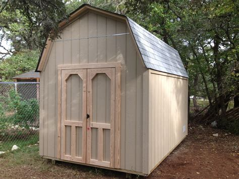 8x12 Metal Shed by Backyard Barns Wood Storage Sheds San Antonio