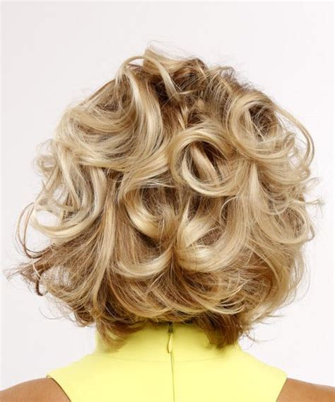 swoop bangs with short curly hair short curly casual hairstyle with side swept bangs light