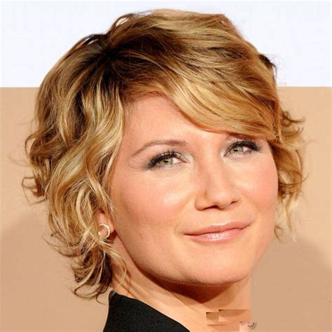 hairstyles for short hair wavy 2015 short curly hairstyles ideas for round face girls