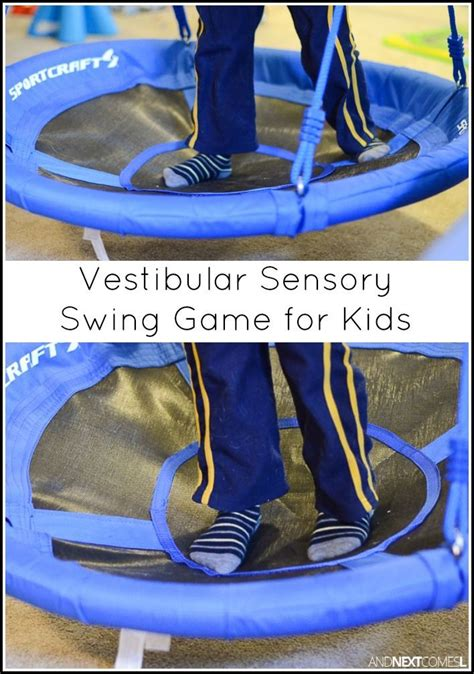 swing games for kids directional swing game vestibular sensory game for kids