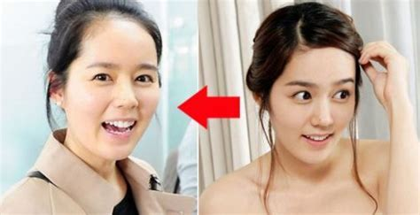 film korea hot lucu wajah artis korea asli tanpa makeup 12