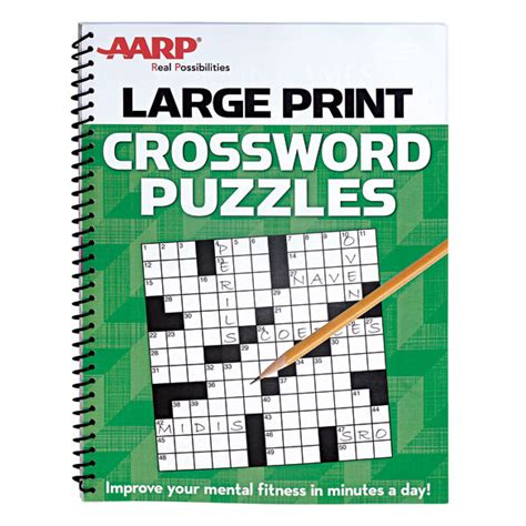 Aarp large print crossword puzzles crossword puzzles easy comforts