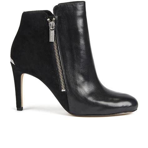 michael michael kors s clara leather heeled ankle