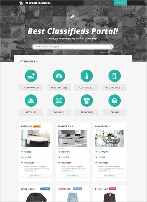 classified ads template free 11 best classified scripts for posting auto real estate