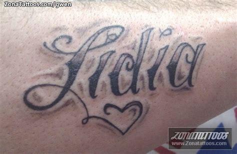 imagenes tatuajes q digan gustavo el nombre lidia imagui