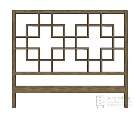 headboard building plans ana white squared2 headboard queen diy projects