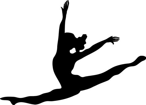 free silhouette images modern dancer silhouette clipart panda free clipart images