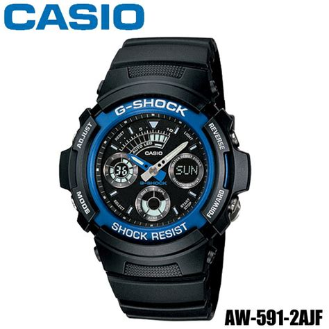 楽天市場 送料無料 カシオgショックaw 591 2ajf dc casio g shock腕時計 g