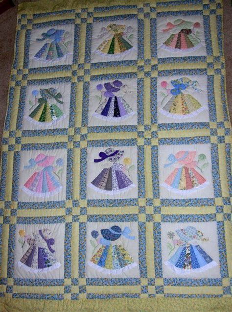 quilt pattern sunbonnet sue 17 best images about sun bonnet sue quilts on pinterest