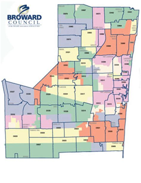 zip code map broward broward county zip code map my blog
