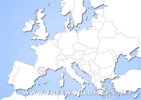where is andorra in europe map andorra world map factsofbelgium