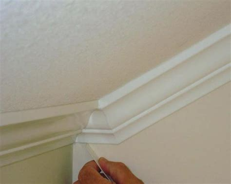 Crown Molding On Angled Ceiling by Installing Crown Moulding Slanted Ceilings Projects