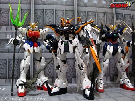 mobile suit gundam wing a creative mind mobile suit gundam wing gundam units