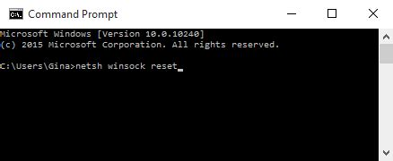reset wifi via cmd resetting network adapter winsock reset iihelp
