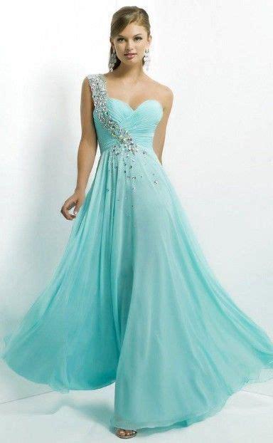 One shoulder prom dress   prom   Pinterest