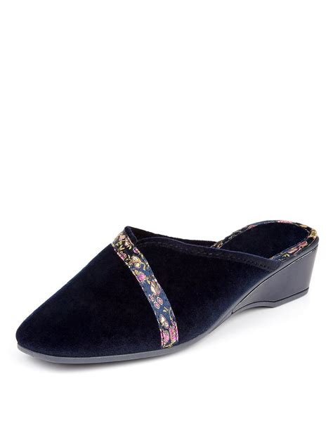 Green Heeled Moccasins From Marks Spencer by Marks And Spencer Shoes Womens Footwear