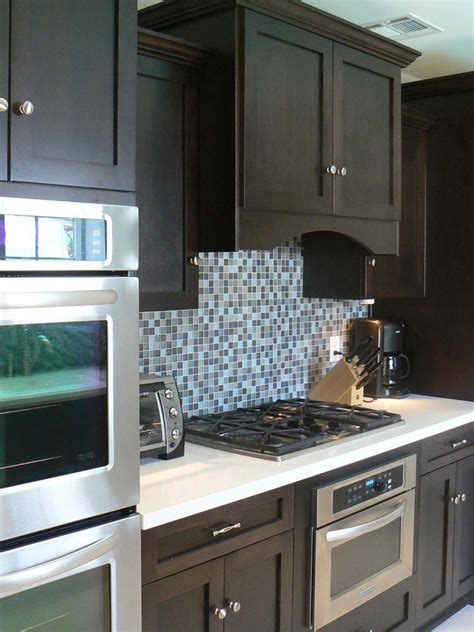 blue kitchen tile backsplash photo page hgtv