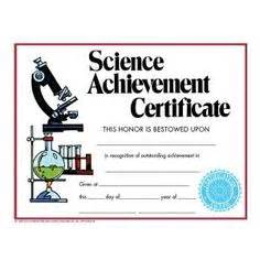 science award certificate template language arts achievement certificate 30 pack
