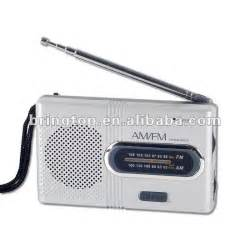 Small Home Radio Small Battery Operated Am Fm Radio With Earphone