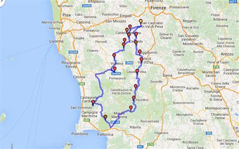 Motorradfahren In Italien by Motorradtouren Toskana